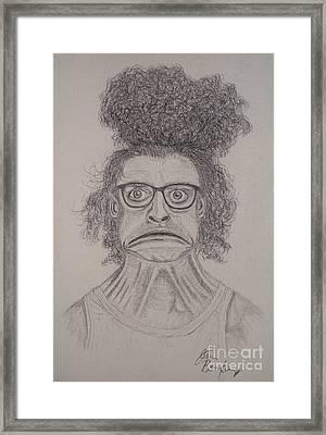 Egad Framed Print