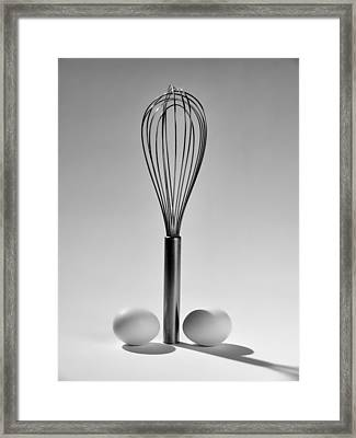 Egg Beater Framed Print