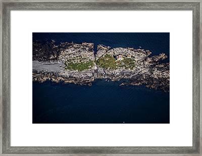 Egg Rock Lighthouse Framed Print by Rick Berk
