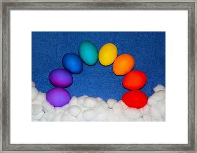 Eggbow Framed Print