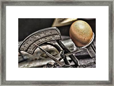 Eggcellent Framed Print