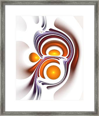 Eggcity Framed Print by Anastasiya Malakhova