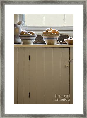 Eggs And Potatoes Framed Print by Margie Hurwich