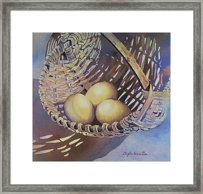 Eggs In A Basket II Framed Print by Daydre Hamilton