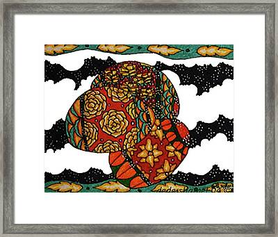 Eggs In The Clouds Framed Print by Dede Shamel Davalos