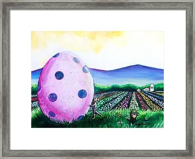 Eggstatic Framed Print