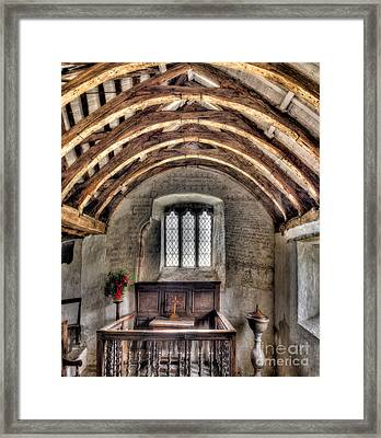 Eglwys Celynnin Sant Framed Print by Adrian Evans