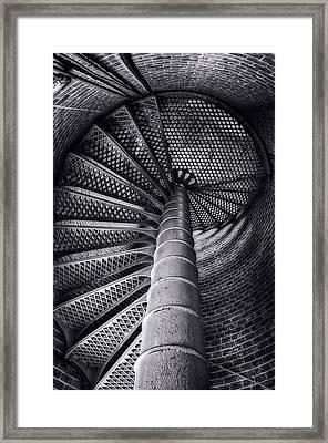 Egmont Key Lighthouse Framed Print by Michael White