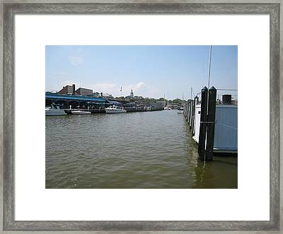Ego Alley Framed Print by Charles Kraus