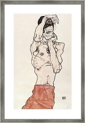 Egon Schiele      Framed Print by Celestial Images