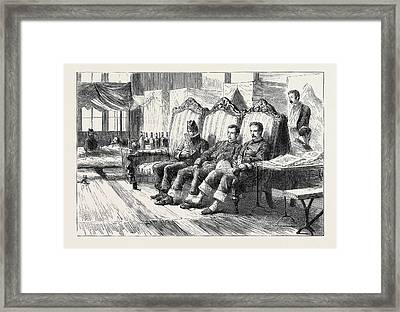 Egypt After The War Our Sick At Cairo The Convalescent Framed Print