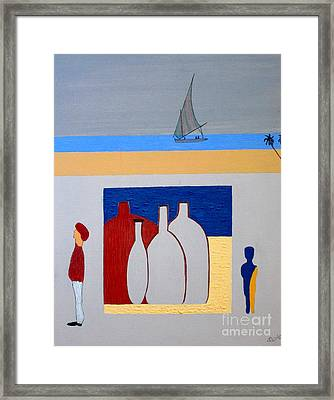 Framed Print featuring the painting Egypt Afternoon by Bill OConnor