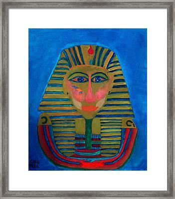Egypt Ancient  Framed Print by Colette V Hera  Guggenheim