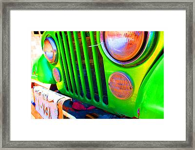Egypt Car Framed Print