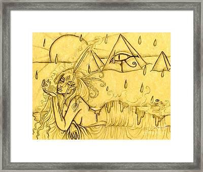 Egypt Framed Print by Coriander  Shea