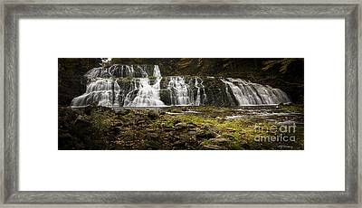 Framed Print featuring the photograph Egypt Falls by Nancy Dempsey