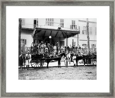 Egypt Shepherd's Hotel Framed Print by Granger
