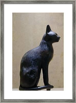 Egyptian Cat Framed Print