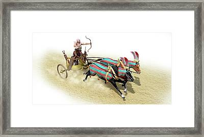 Egyptian Chariot Framed Print