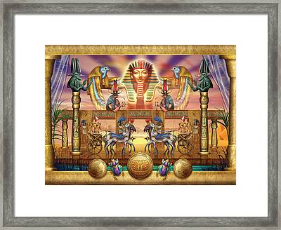 Egyptian Framed Print