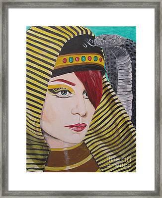 Egyptian Princess Framed Print