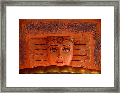 Egyptian Queen Nefertiti  Framed Print by Renee Anderson