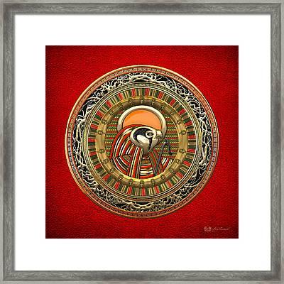 Egyptian Sun God Ra Framed Print