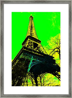 Eiffel 20130115v2 Framed Print by Wingsdomain Art and Photography