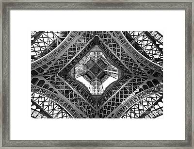 Eiffel Abstract Framed Print