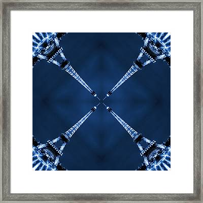Eiffel Art 13 Framed Print by Mike McGlothlen