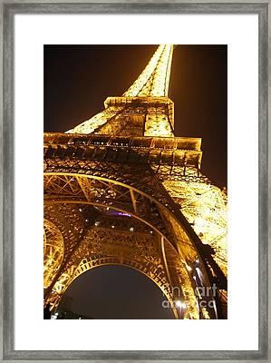 Eiffel Knew How To Build Them Framed Print by Alexandra Jordankova