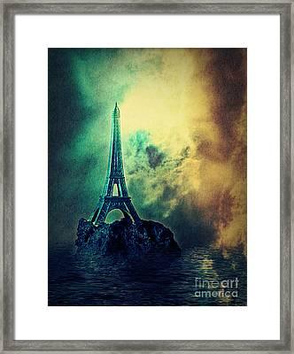 Eiffel Lighthouse Framed Print