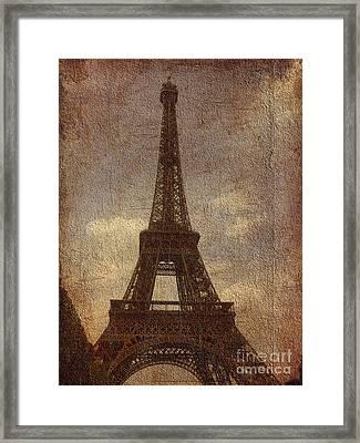 Eiffel Framed Print by Soumya Bouchachi