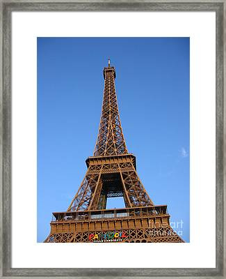 Eiffel Tower 2005 Ville Candidate Framed Print