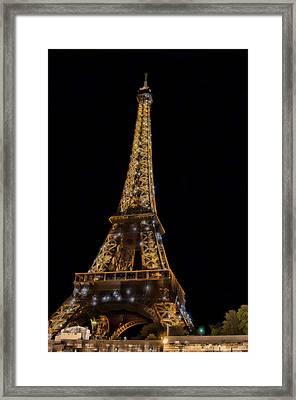 Eiffel Tower 4 Framed Print by Mauro Celotti