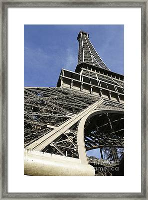 Framed Print featuring the photograph Eiffel Tower by Belinda Greb