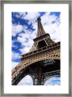 Eiffel Tower Framed Print by Elena Elisseeva