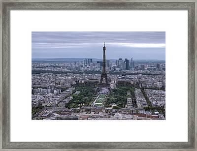 Eiffel Tower Framed Print by Ioan Panaite