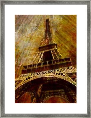 Eiffel Tower Framed Print by Jack Zulli