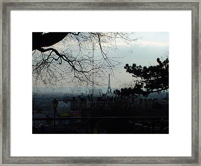 Eiffel Tower Framed Print by Mieczyslaw Rudek Mietko