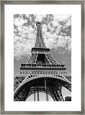 Eiffel Tower Paris Framed Print by Gallery Of Modern Art