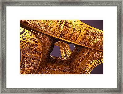 Eiffel Tower - Paris France - 011312 Framed Print by DC Photographer