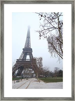 Eiffel Tower - Paris France - 011314 Framed Print by DC Photographer
