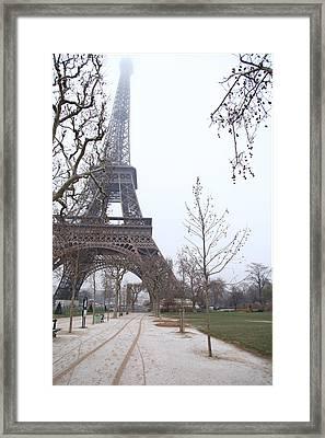 Eiffel Tower - Paris France - 011316 Framed Print by DC Photographer