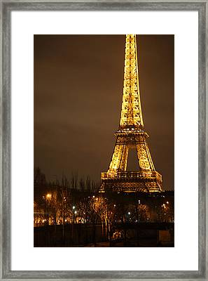 Eiffel Tower - Paris France - 011320 Framed Print by DC Photographer
