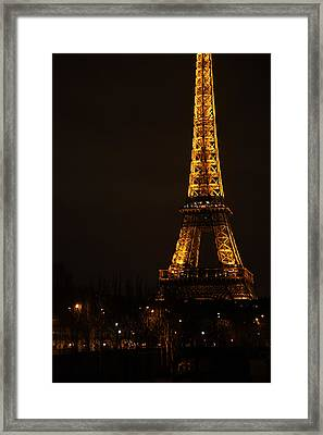 Eiffel Tower - Paris France - 011321 Framed Print by DC Photographer