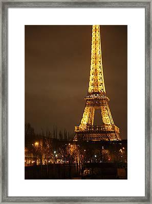 Eiffel Tower - Paris France - 011322 Framed Print by DC Photographer
