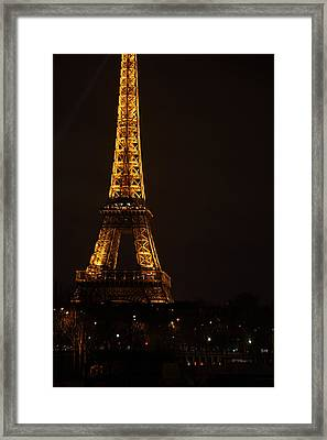 Eiffel Tower - Paris France - 011323 Framed Print by DC Photographer