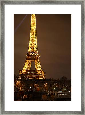 Eiffel Tower - Paris France - 011324 Framed Print by DC Photographer