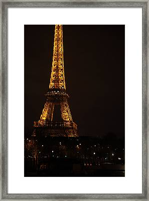 Eiffel Tower - Paris France - 011325 Framed Print by DC Photographer